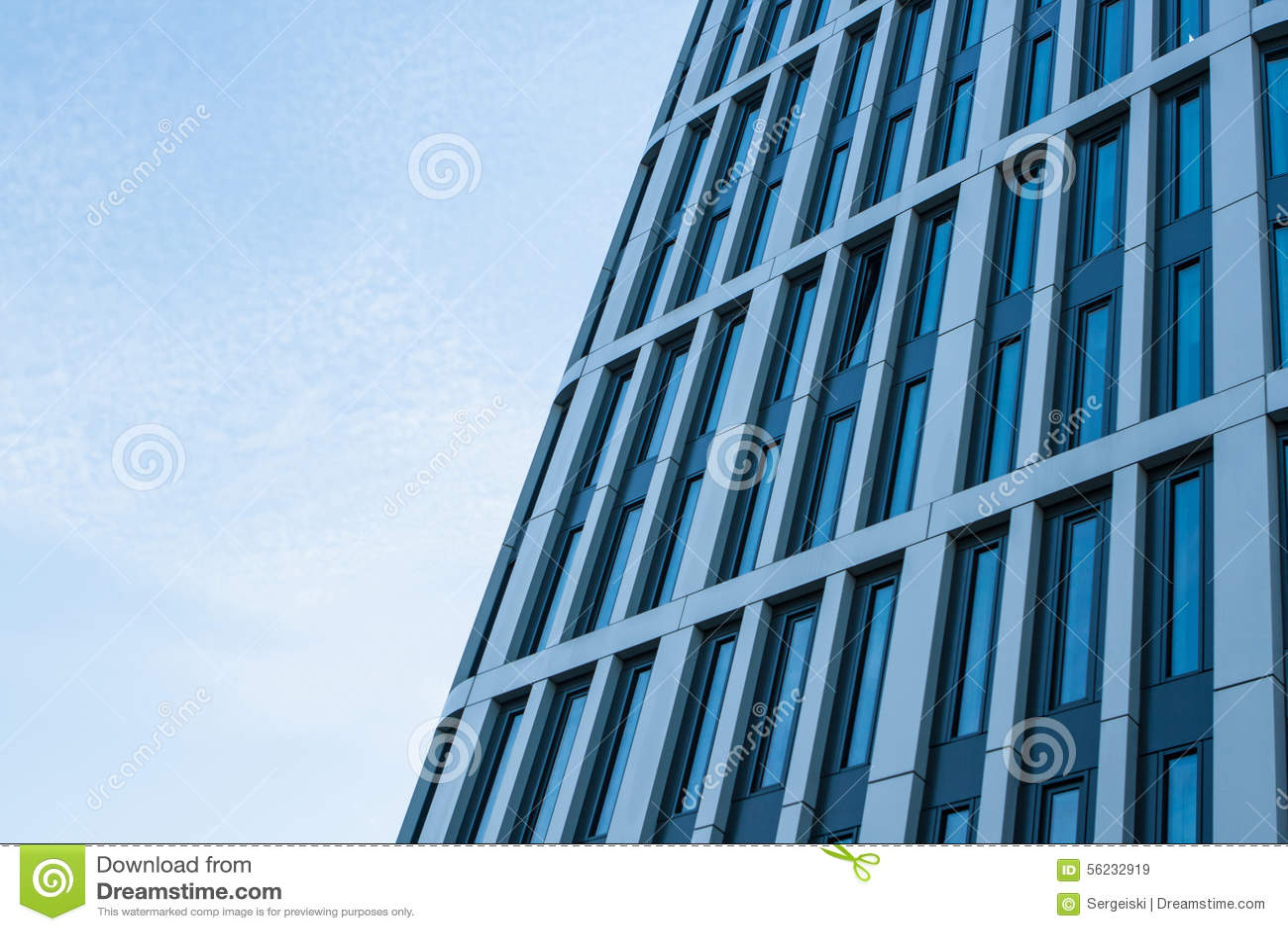 De moderne bouw in warshaw polen stock afbeelding for Moderne bouw