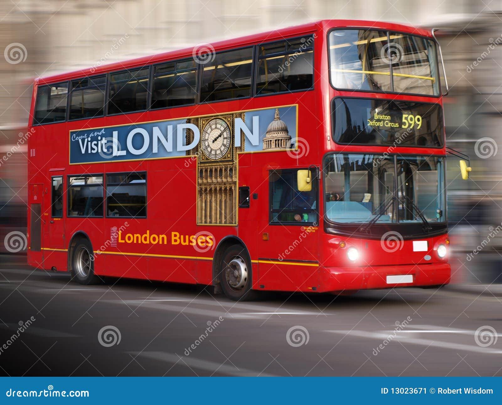 De moderne Bus van Londen