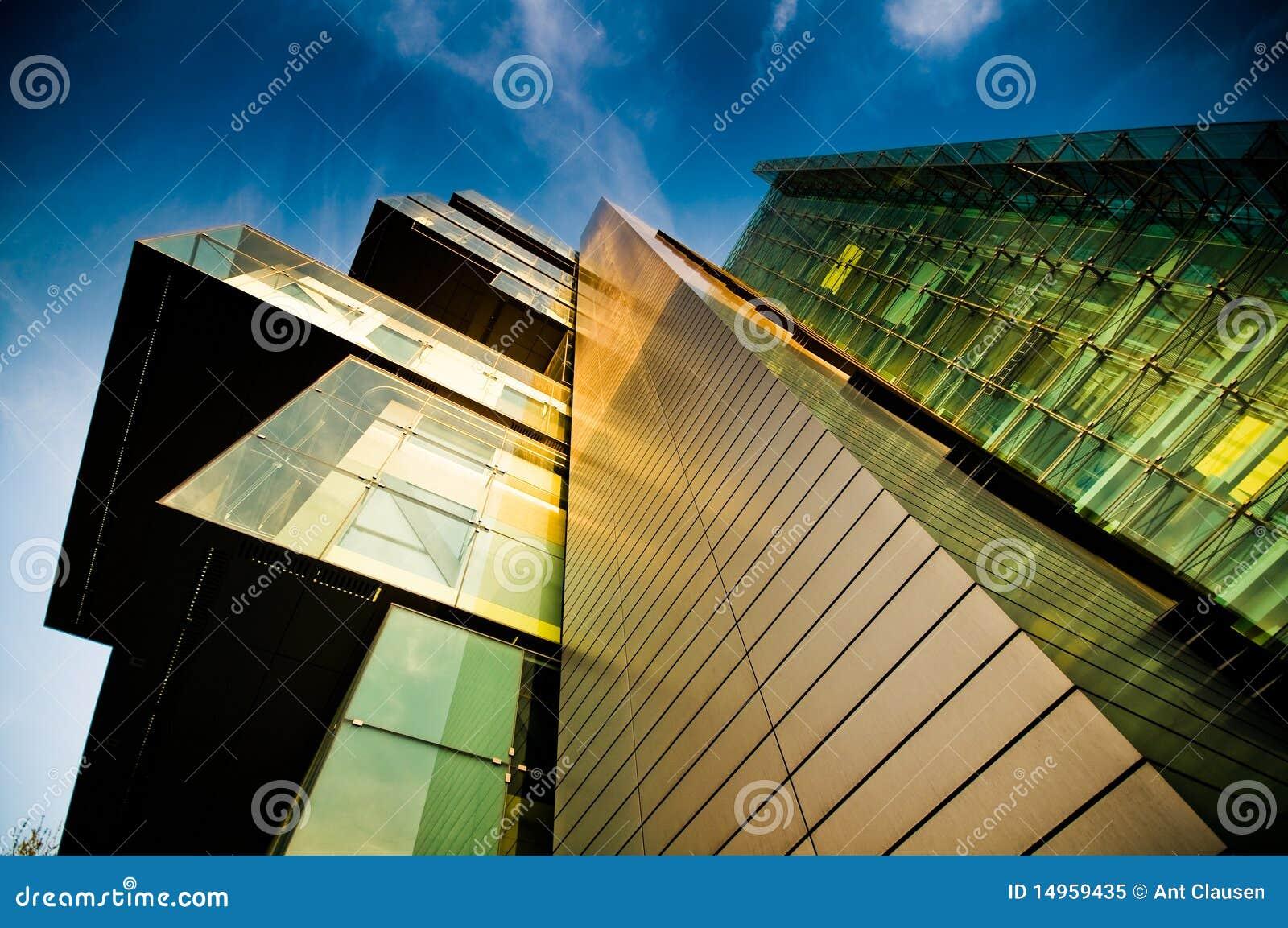 De moderne collectieve bouw stock afbeelding afbeelding for Moderne bouw