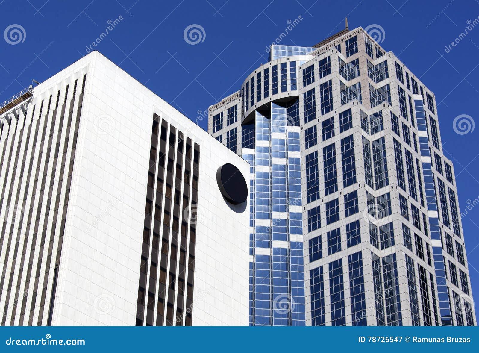 De Moderne Gebouwen van Seattle
