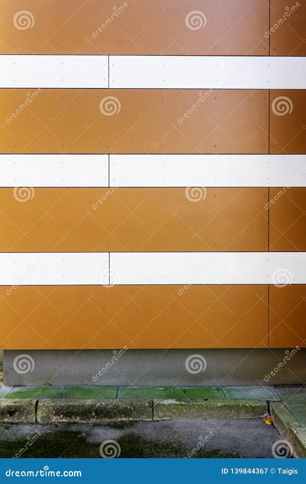 De moderne gestreepte achtergrond van de muurtextuur
