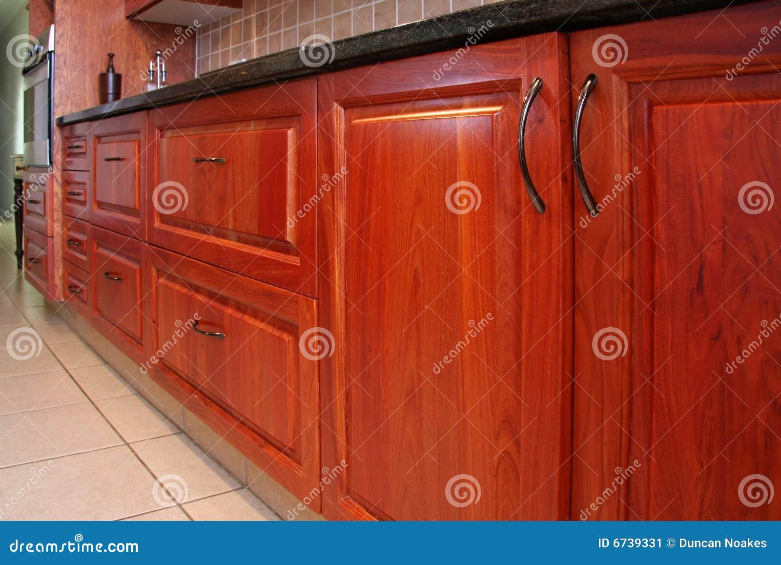 De moderne kasten van de keuken stock afbeelding afbeelding 6739331 - De moderne keukens ...