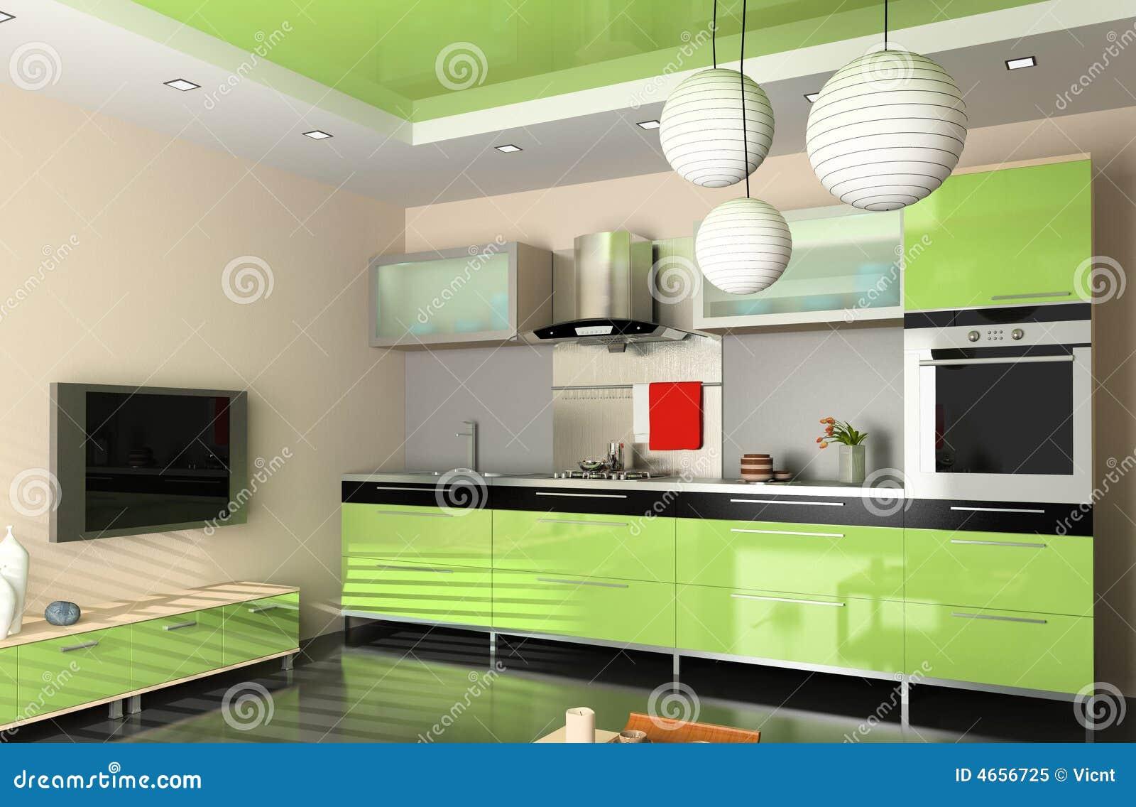 De moderne keuken