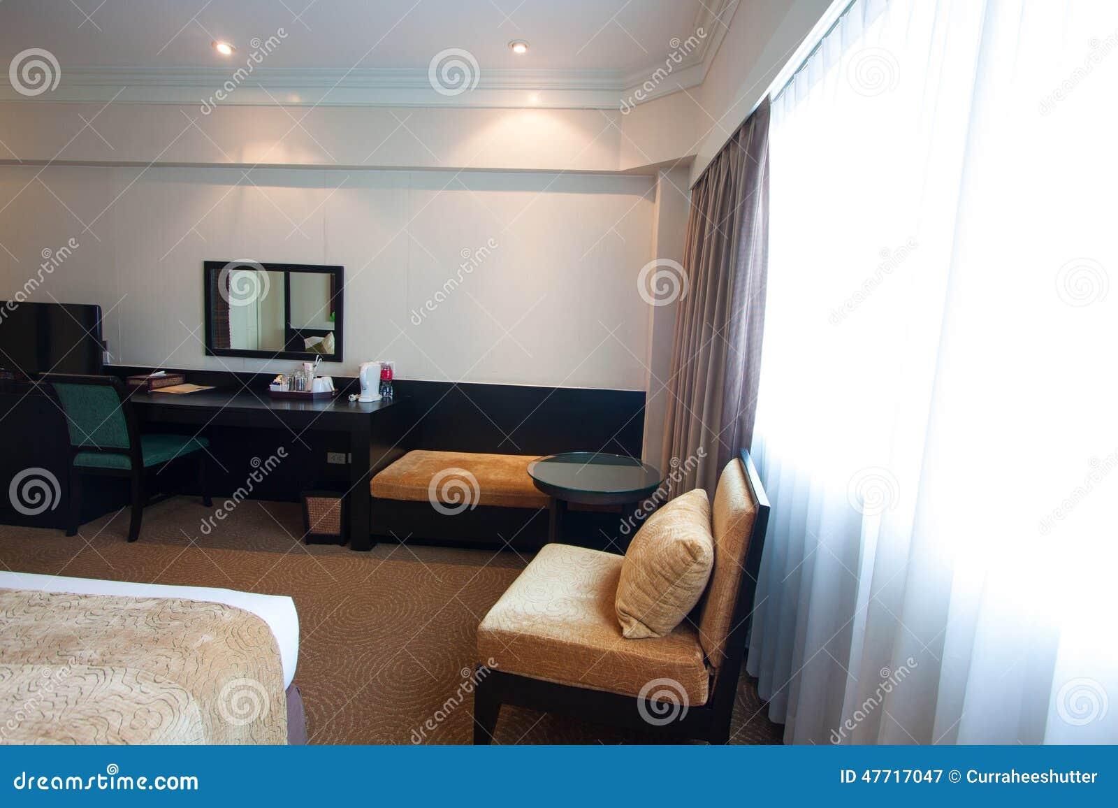 De moderne woonkamer van de luxe moderne stijl in het hotel