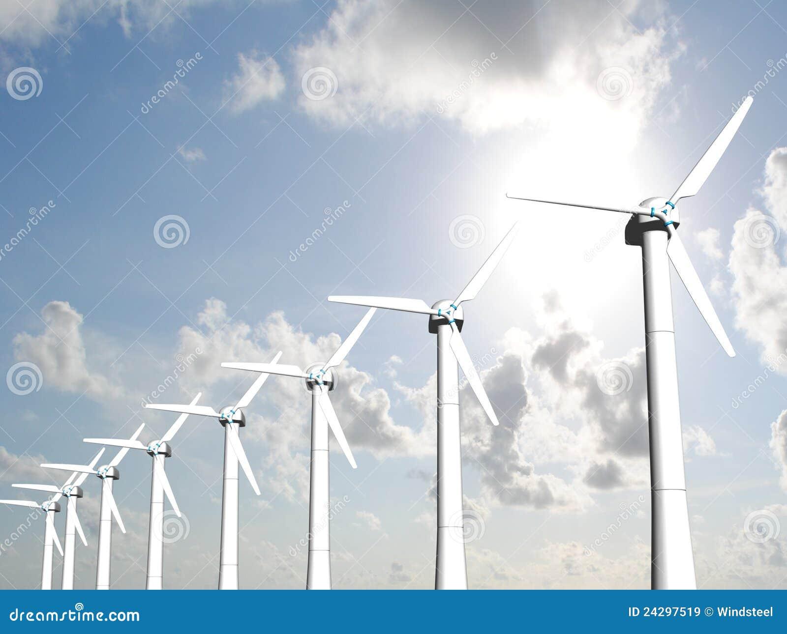 De molens van de wind