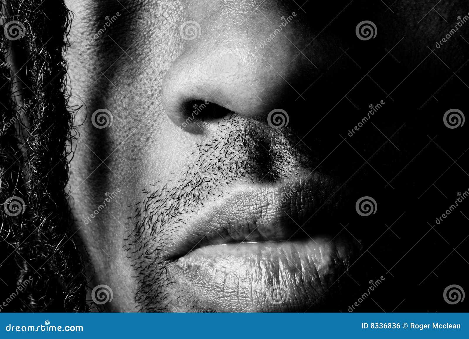 De mond van de neus