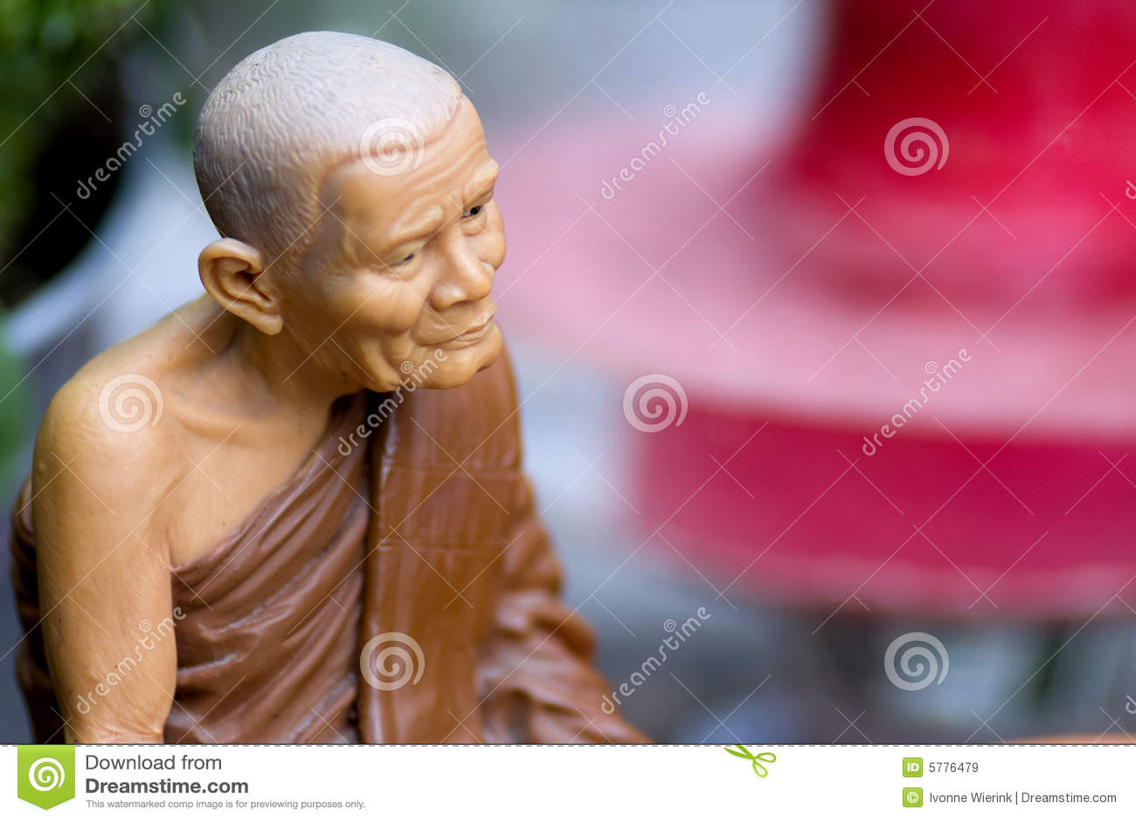 De monnik van het boeddhisme