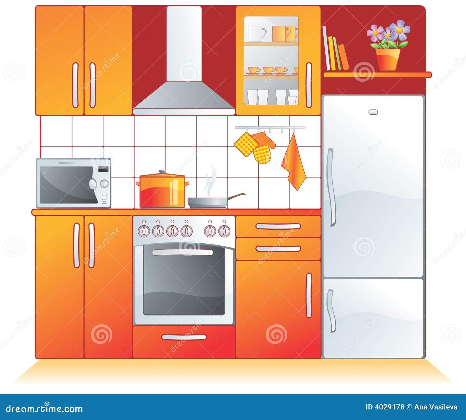De montage van de keuken, toestellen