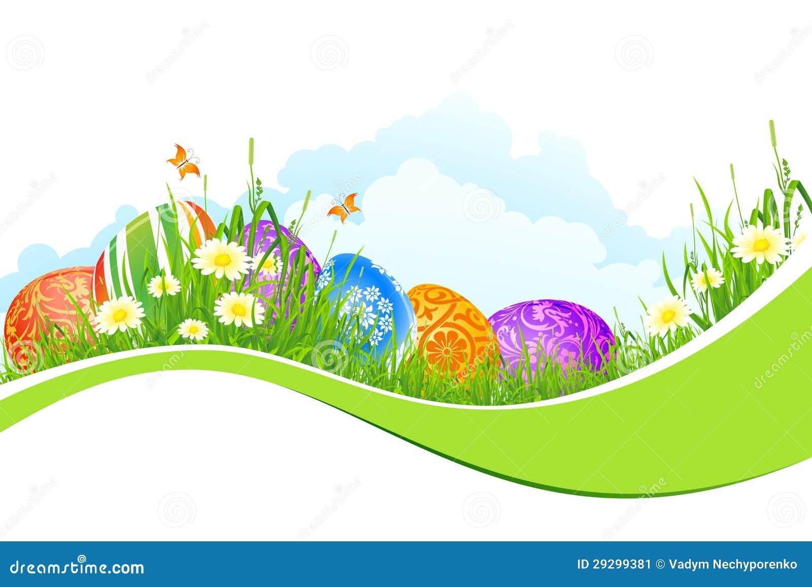 De mooie Achtergrond van de Vakantie van Pasen