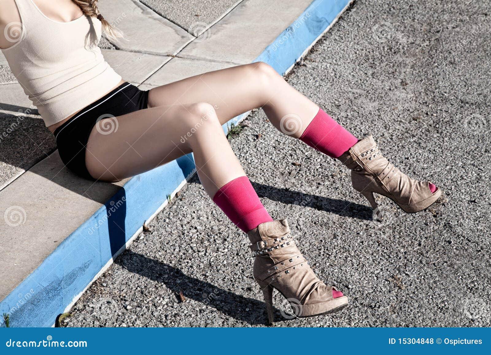 vrouwen met mooie benen