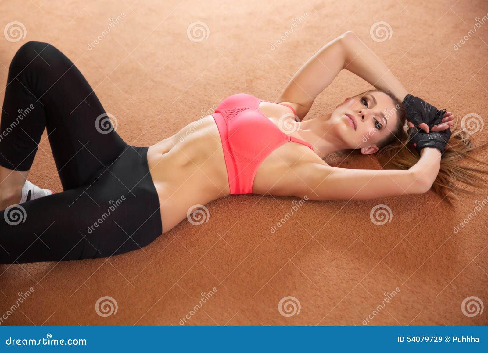 De mooie Fitness levensstijl van Vrouwensporten