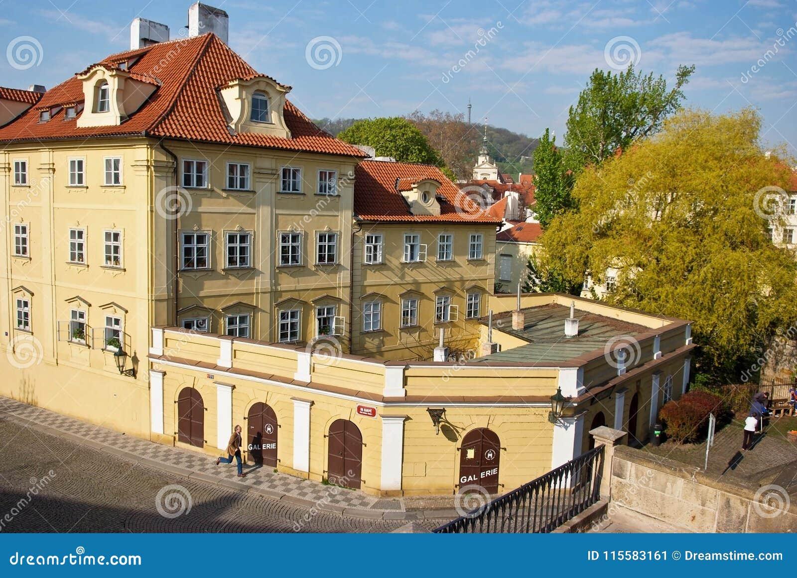 De mooie historische bouw praag