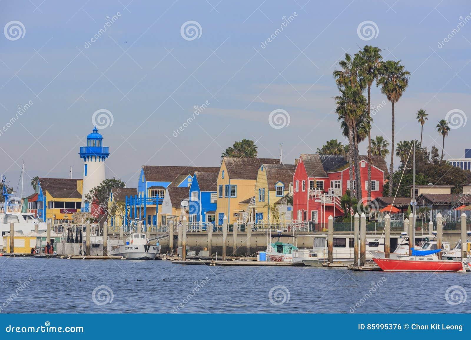 De mooie Marina Del Rey-haven