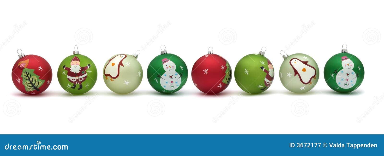 De mooie snuisterijen van Kerstmis