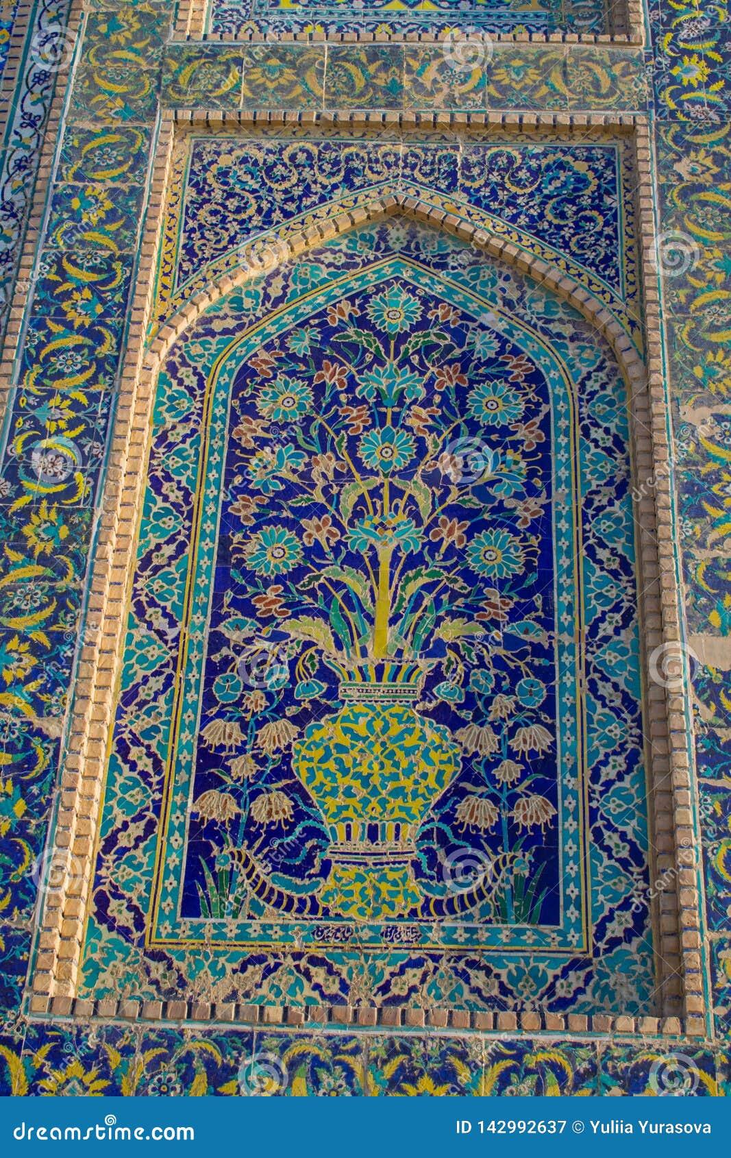 De mooie stad van Oezbekistan van de architecturale monumenten van Samarkand en van Boukhara