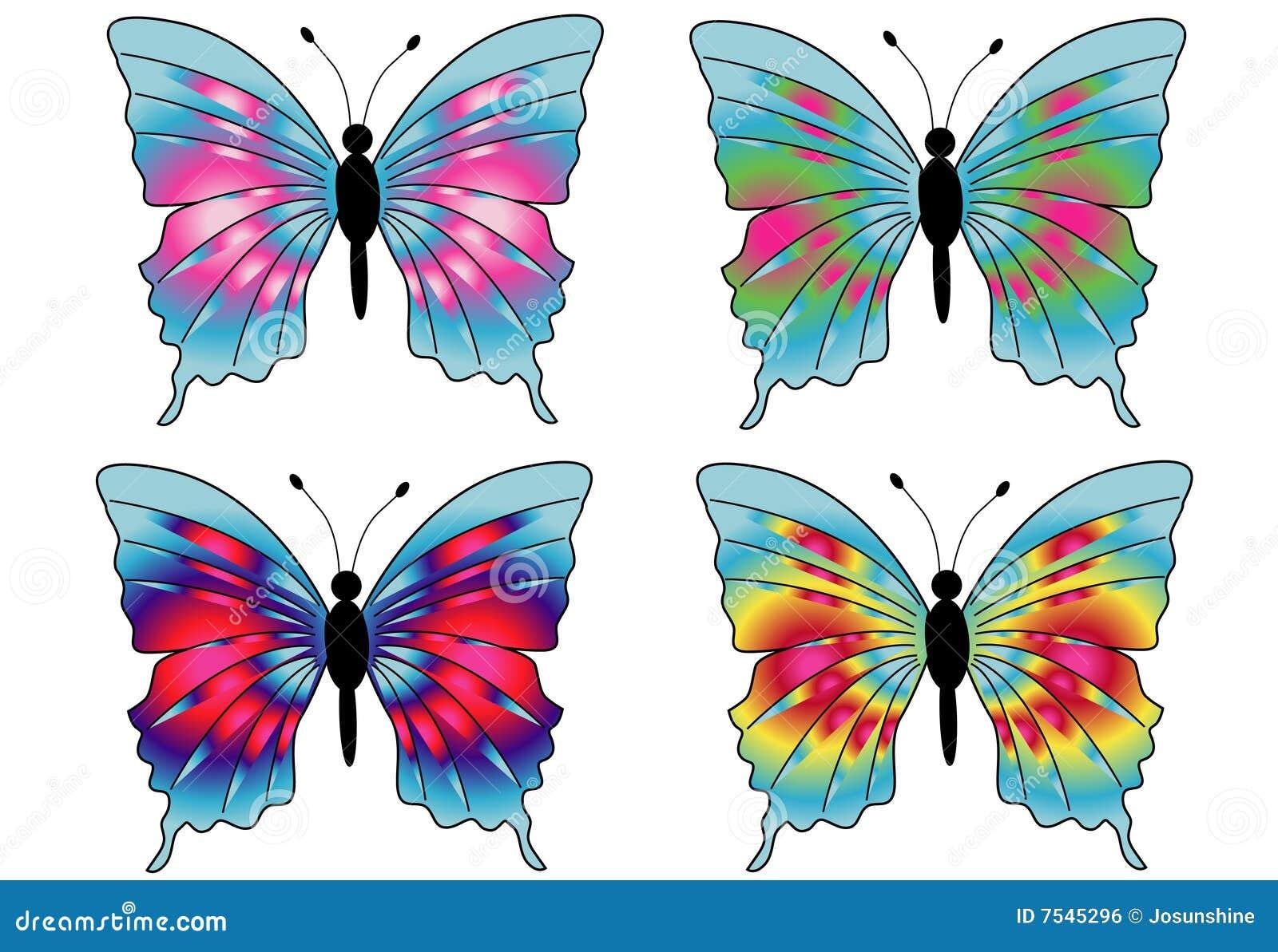 21 mooie kleurrijke vlinder - photo #14
