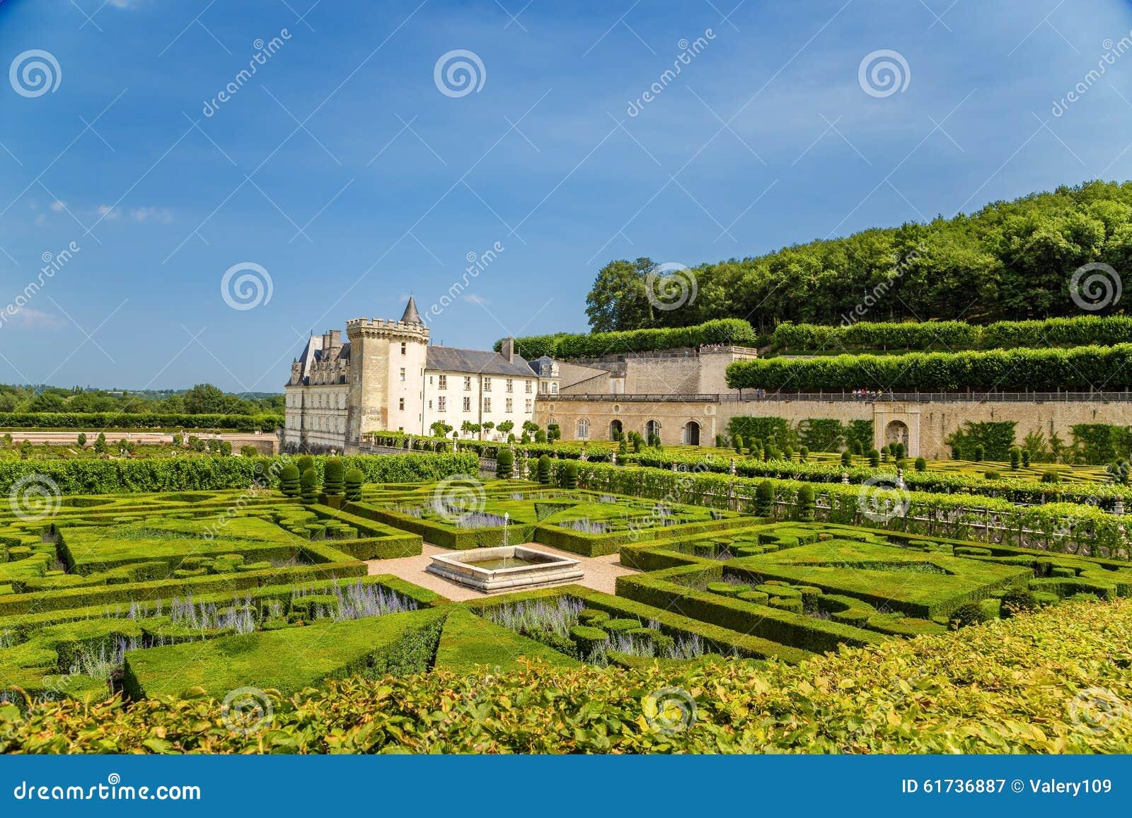De mooie tuinen van het kasteel van villandry frankrijk for Mooie tuinen afbeeldingen