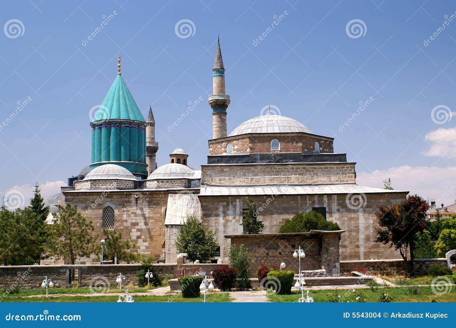 De moskee van Konya