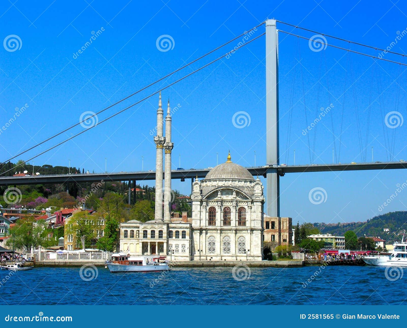 De Moskee van Ortakoy