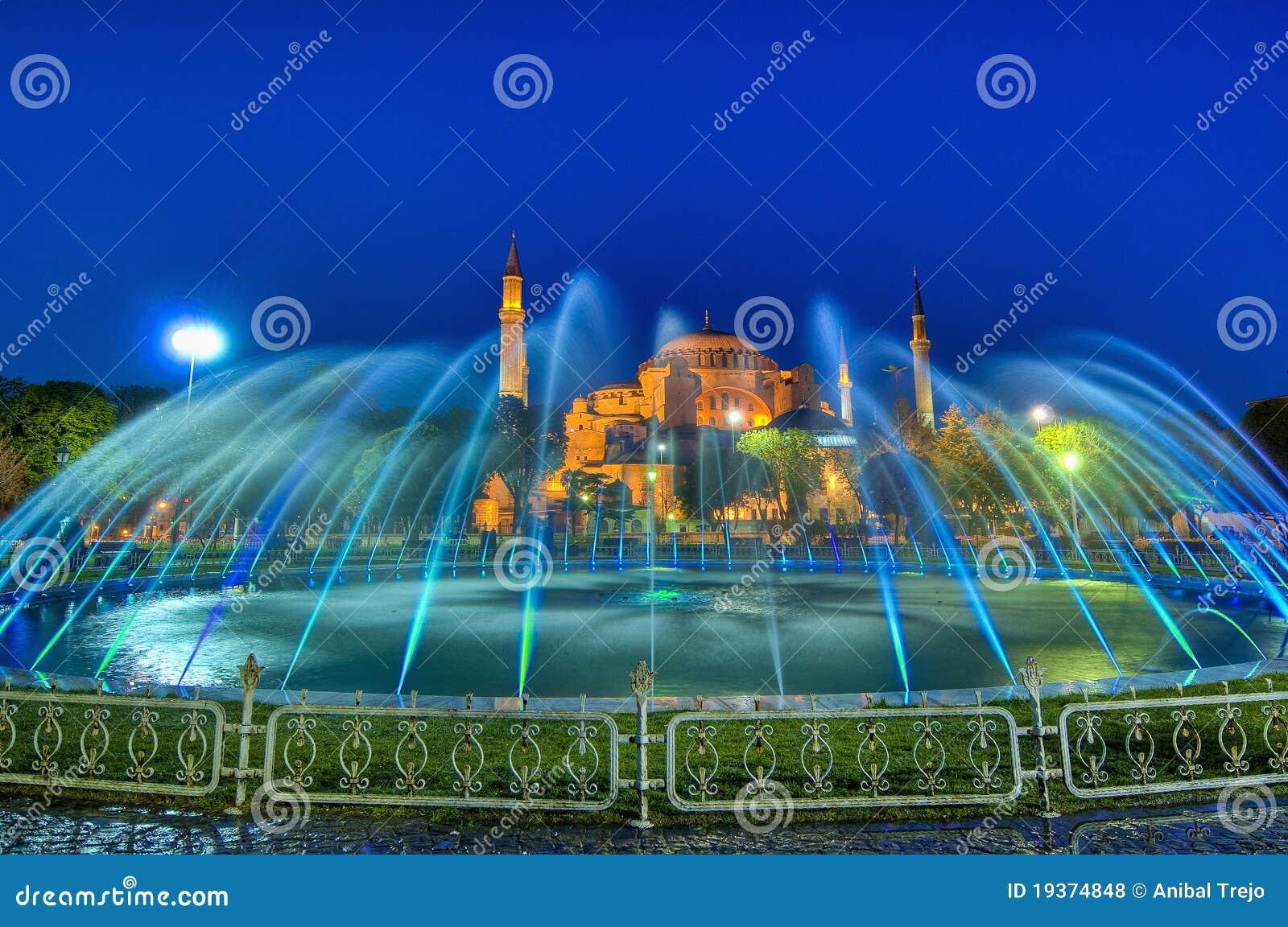 De Moskee van Sofia van Hagia in Istanboel
