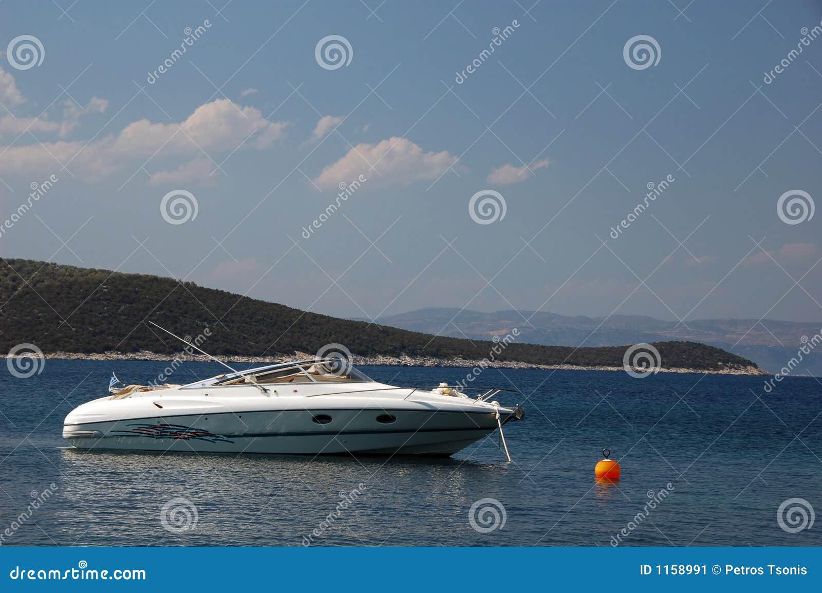 De motorboot van de luxe