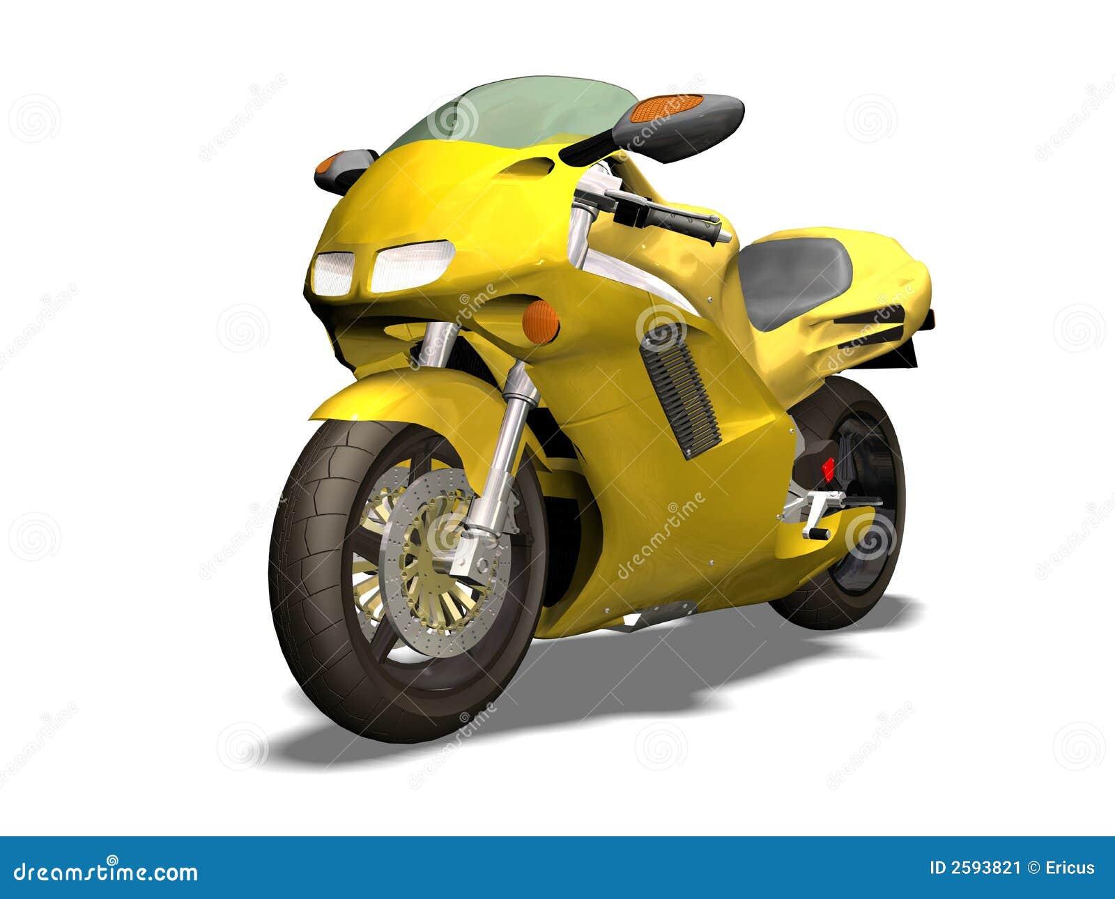 De motorfiets van de sport