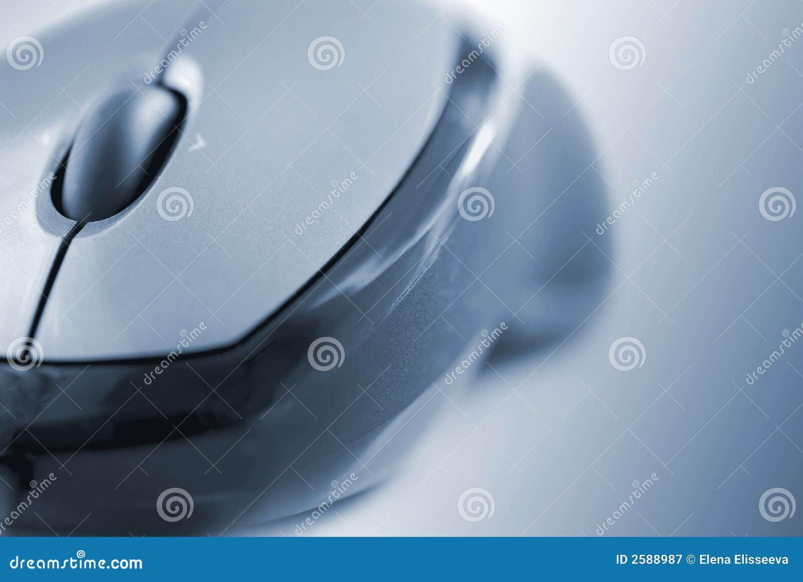 De muis van de computer