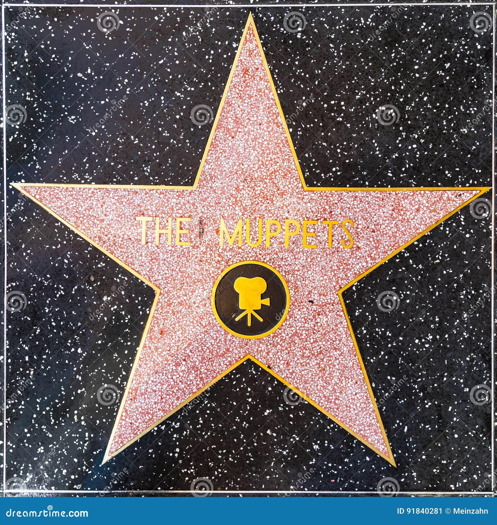 De Muppets-ster op Hollywood-Gang van Bekendheid