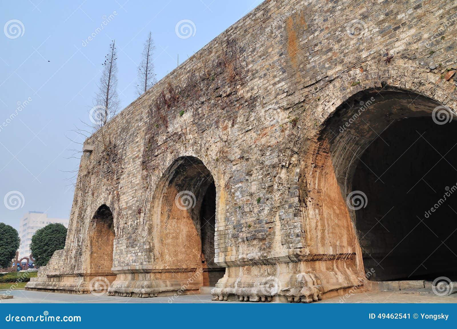 De muren van de Xi anstad