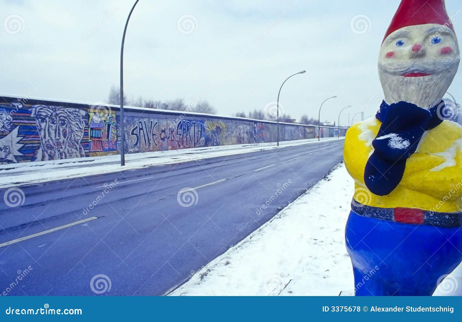 De muur van Berlijn no.1