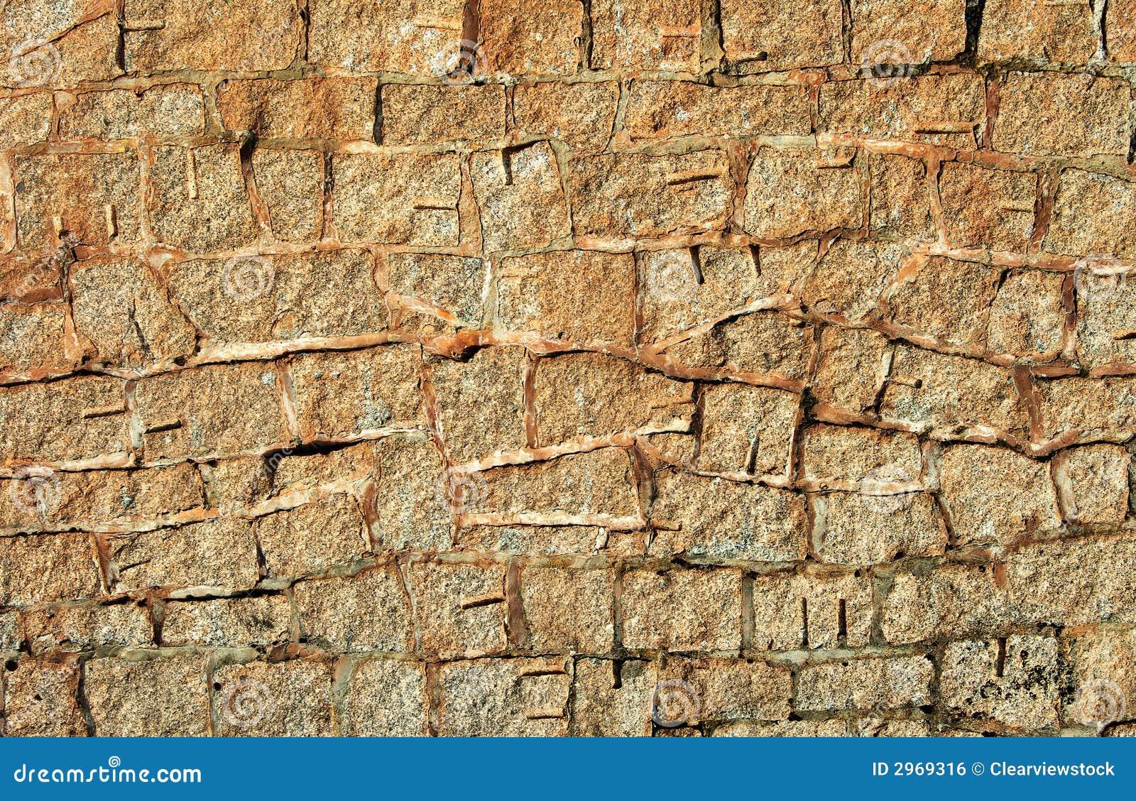 De muur van de achtergrond steen textuur stock foto afbeelding 2969316 - Muur steen duidelijk ...