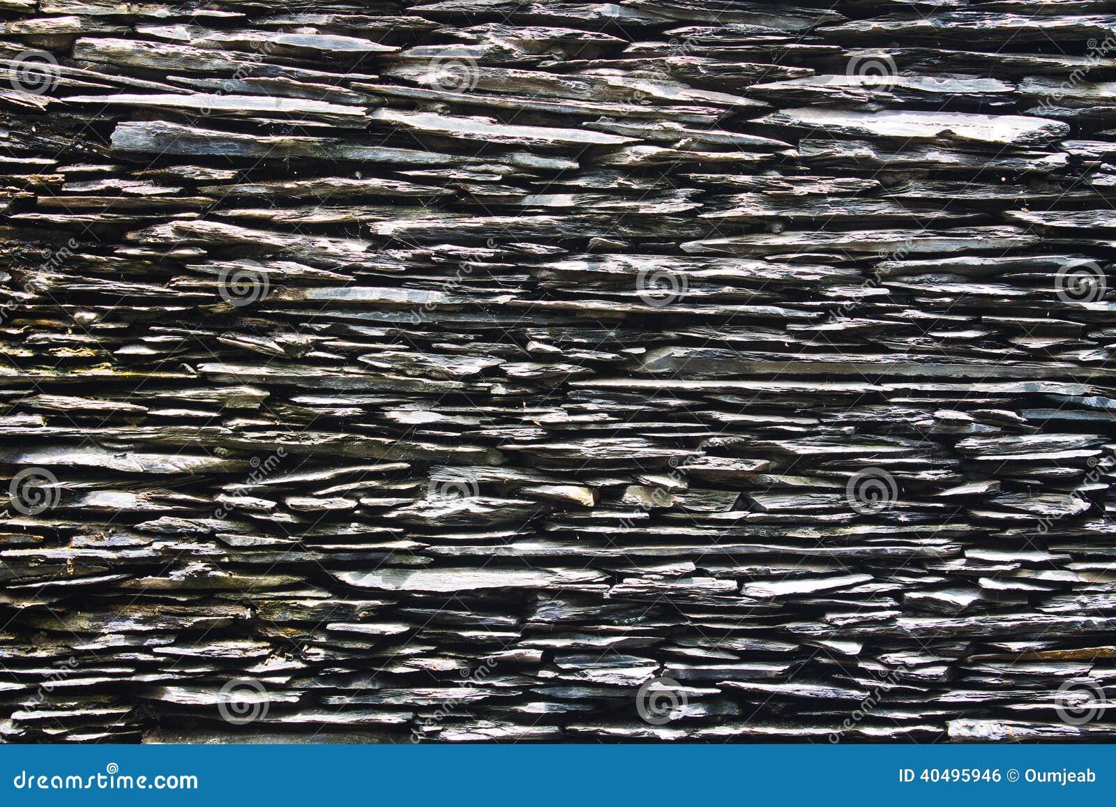 De muur van de leisteen stock foto afbeelding 40495946 - Leisteen muur ...
