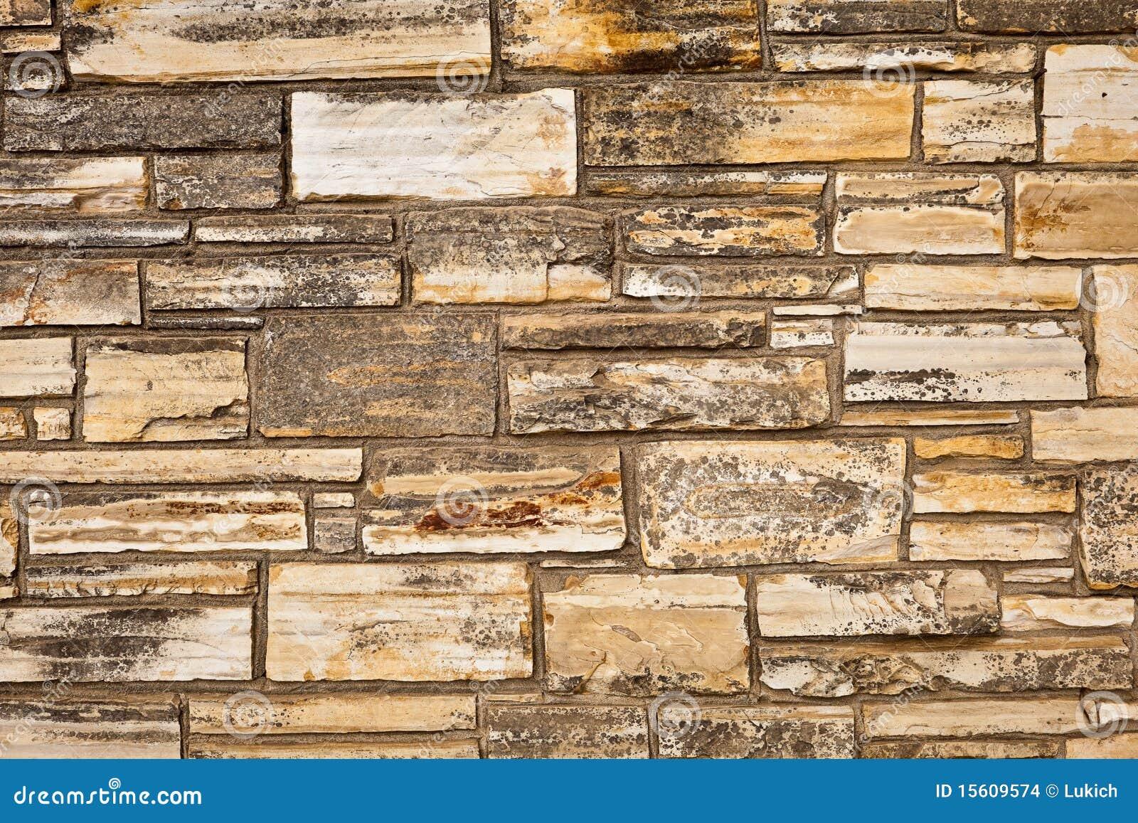 De muur van de steen van natuurlijke stenen stock afbeeldingen afbeelding 15609574 - Muur steen duidelijk ...