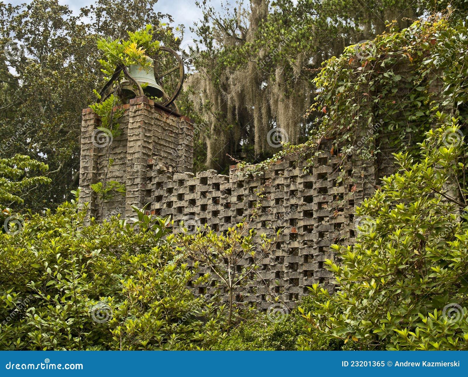 De muur van de tuin royalty vrije stock foto beeld 23201365 - Muur tuin ...