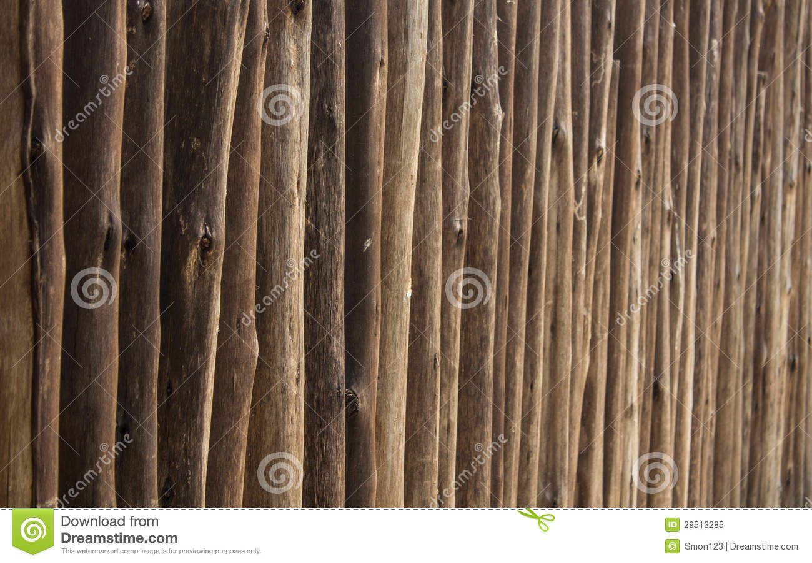De muur van het hout