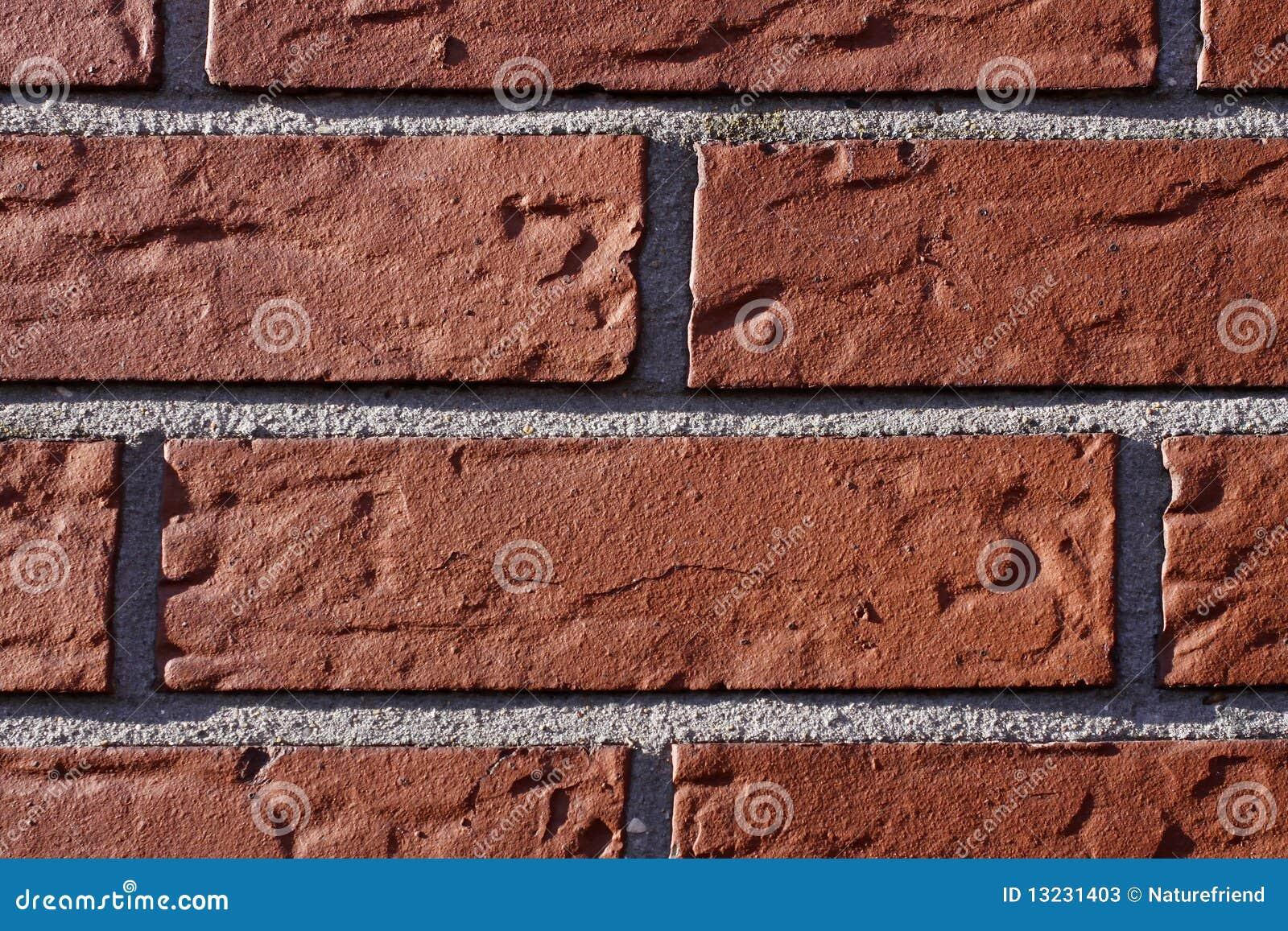 De Muur Van Het Huis Met Rode Stenen Stock Foto's - Afbeelding ...