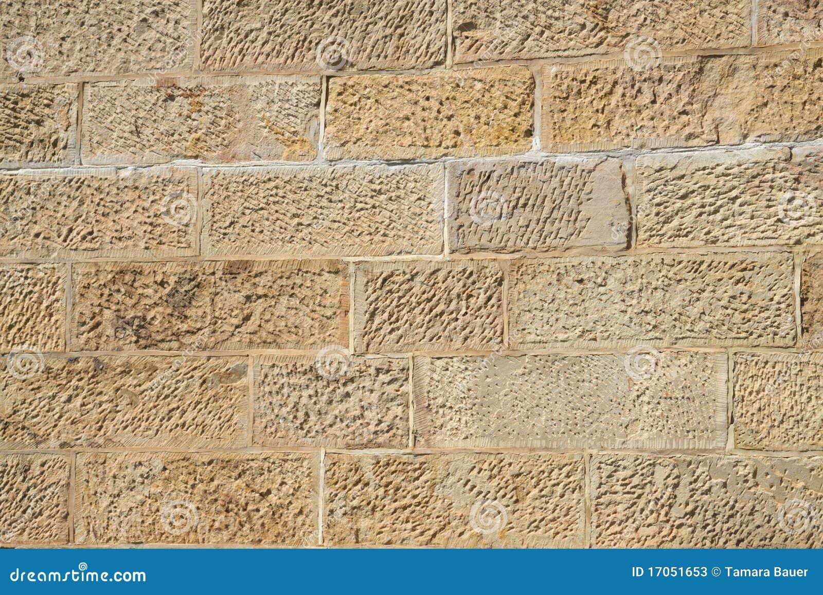 De muur van het zandsteen stock afbeelding afbeelding bestaande uit rots 17051653 - Muur steen duidelijk ...