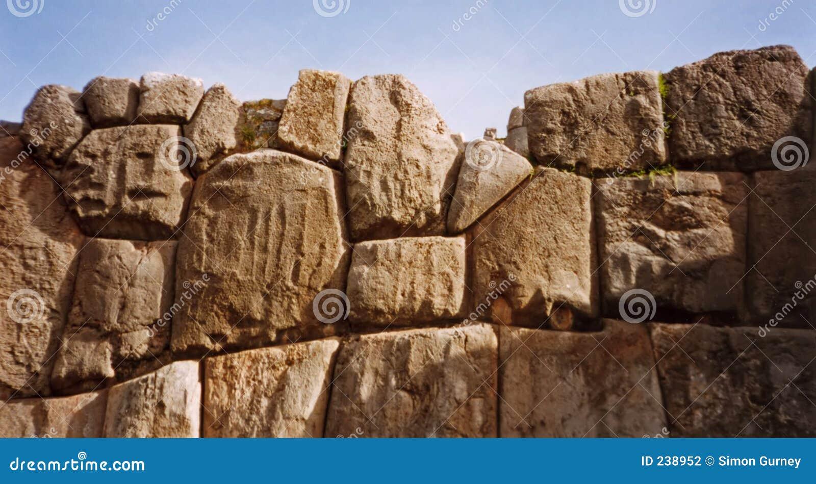 De muur van Inca