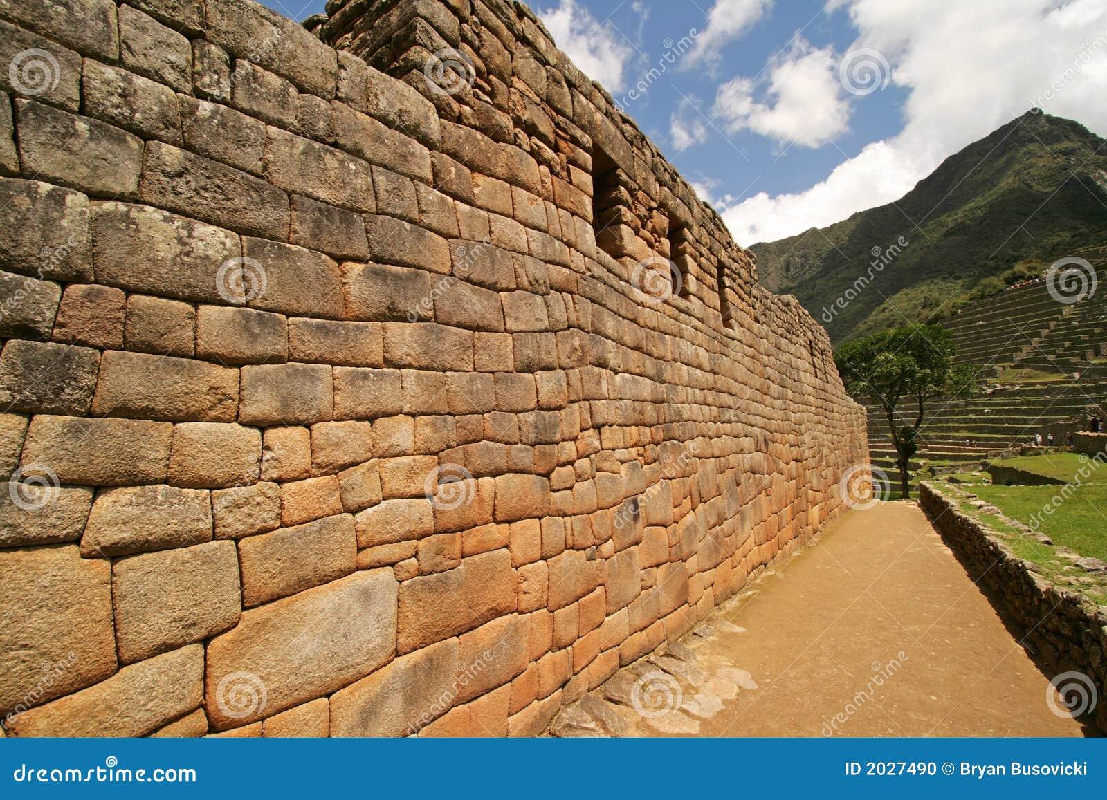 De Muur van Picchu van Machu