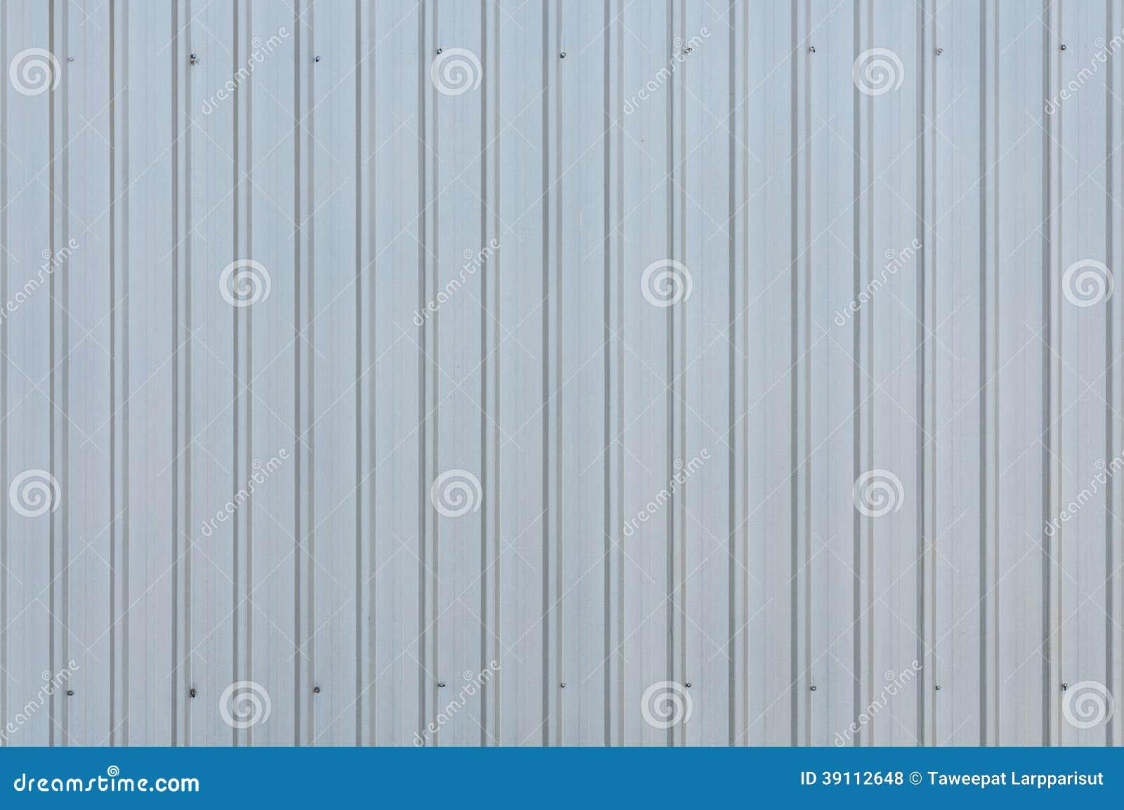 De muurachtergrond van metaalbladen