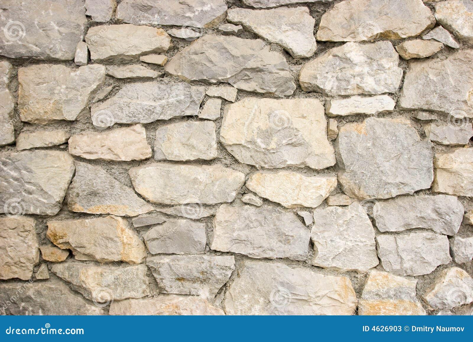 De muurpatroon van de steen