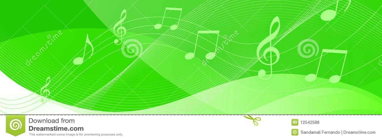 De muziek neemt nota van kopbal
