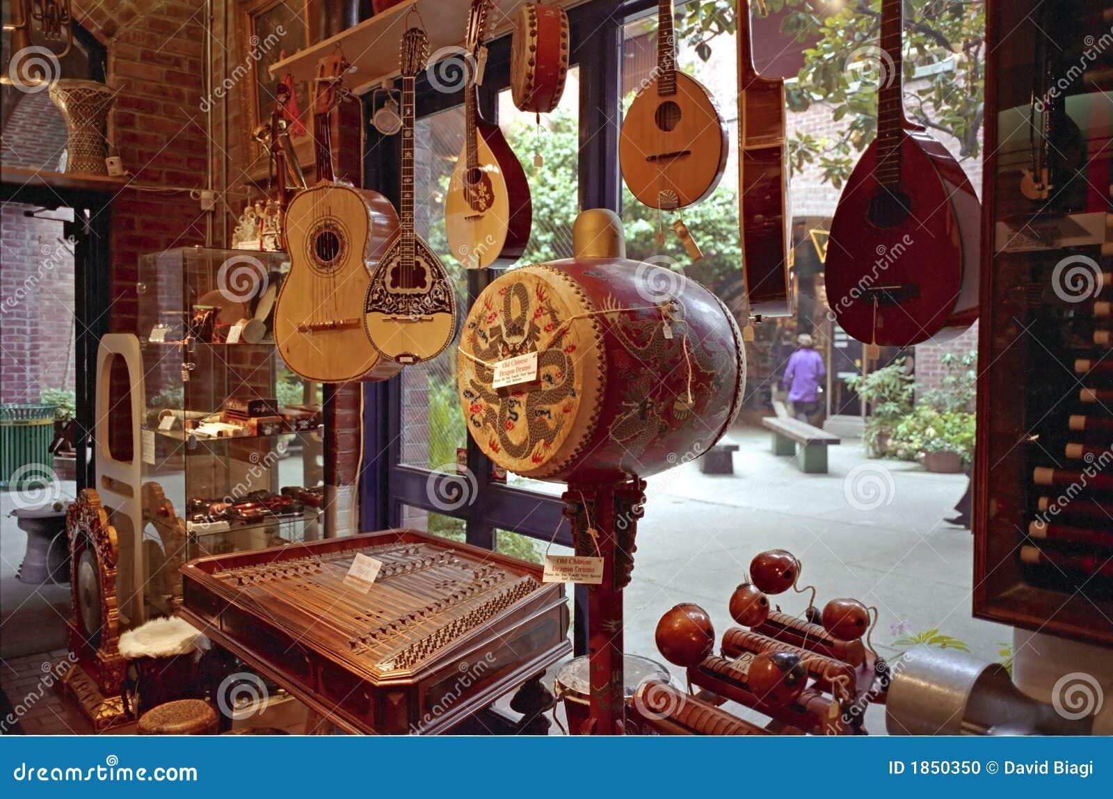De muzikale Winkel San Francicsco van het Instrument
