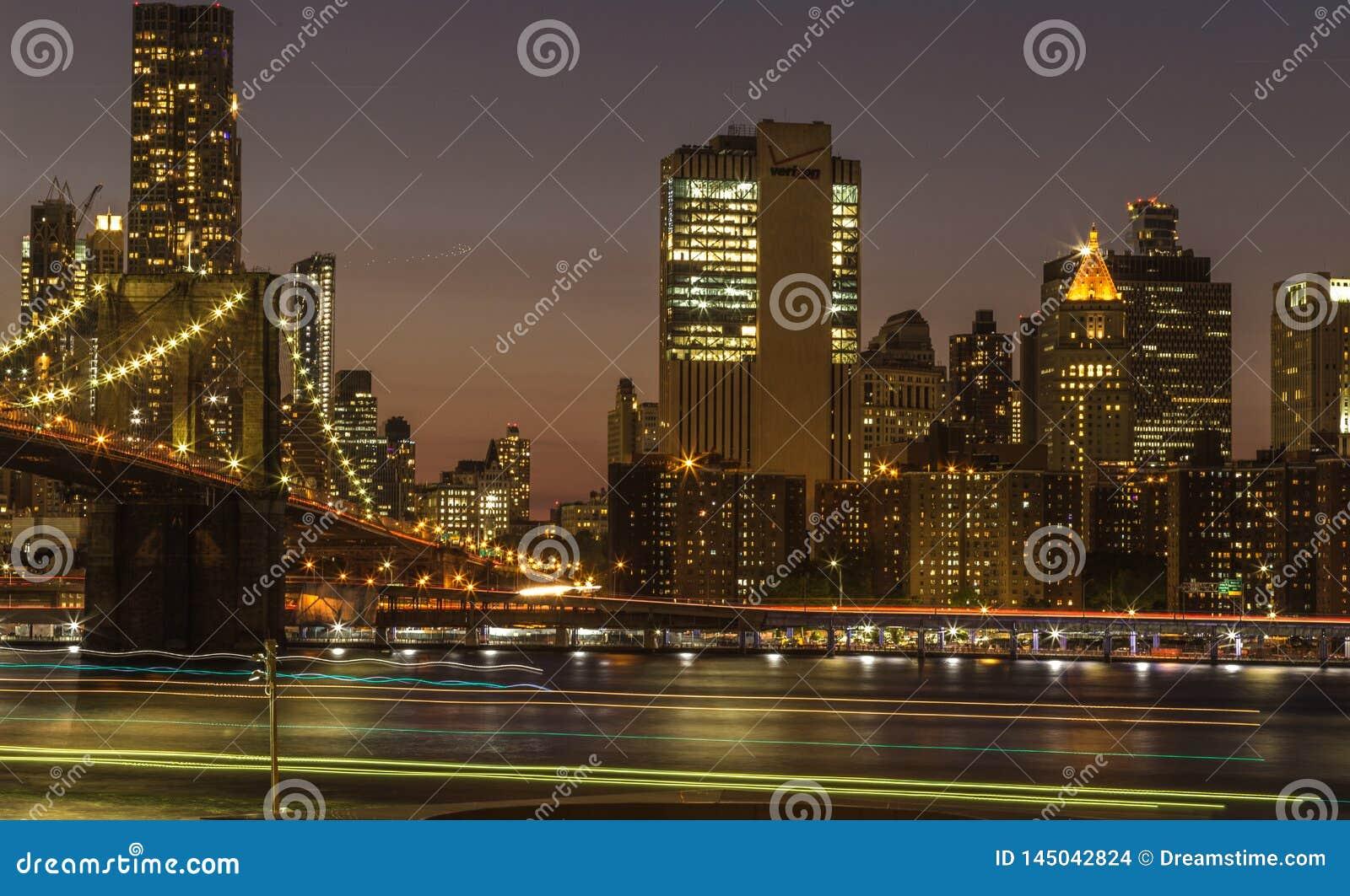De nacht van New York
