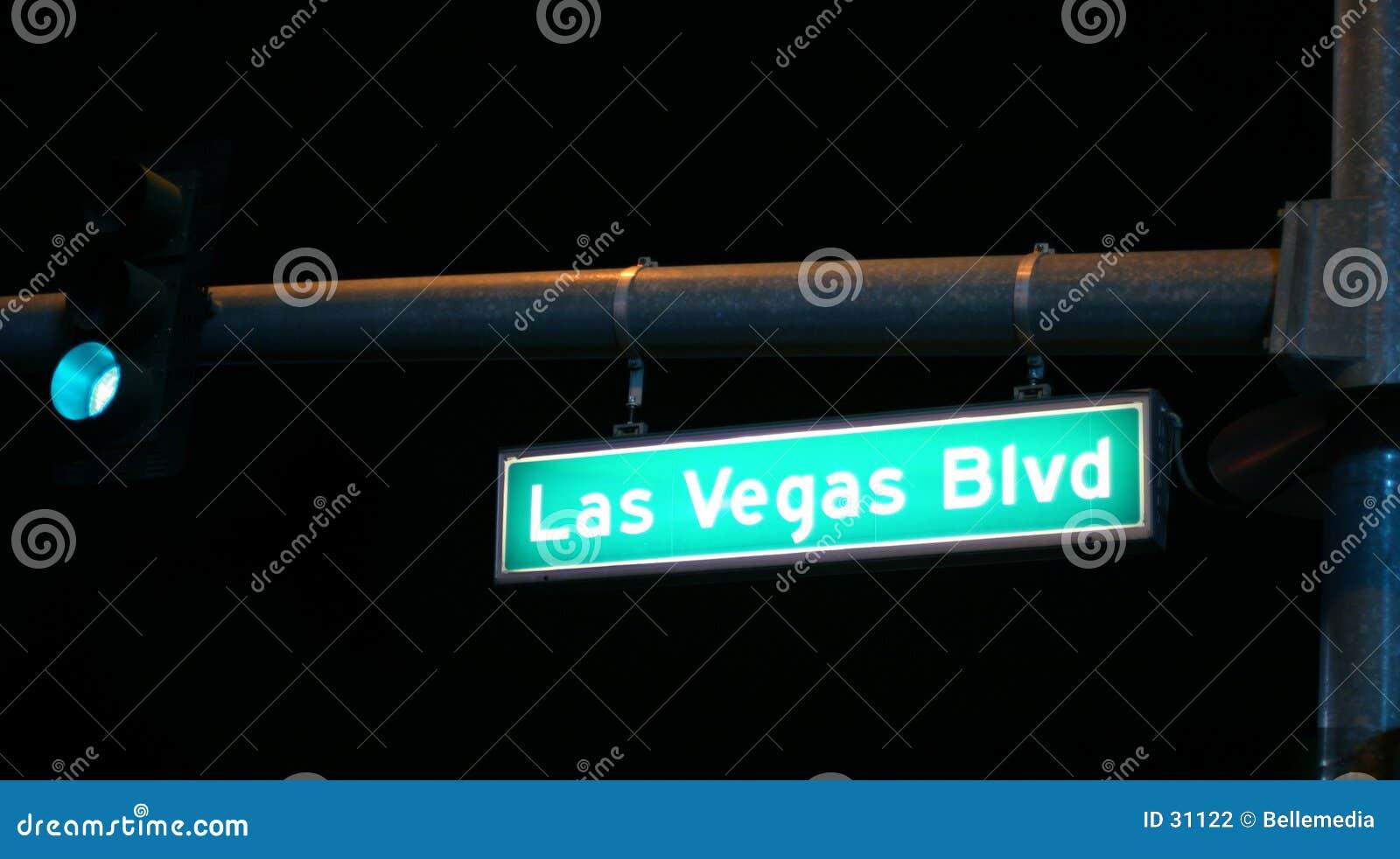 De nacht van Vegas van Las