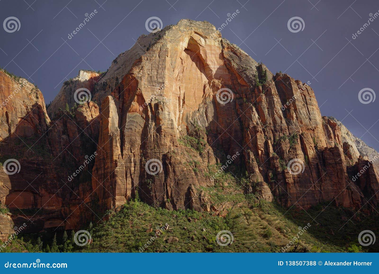 De nationale Bergen Zion van parkutah