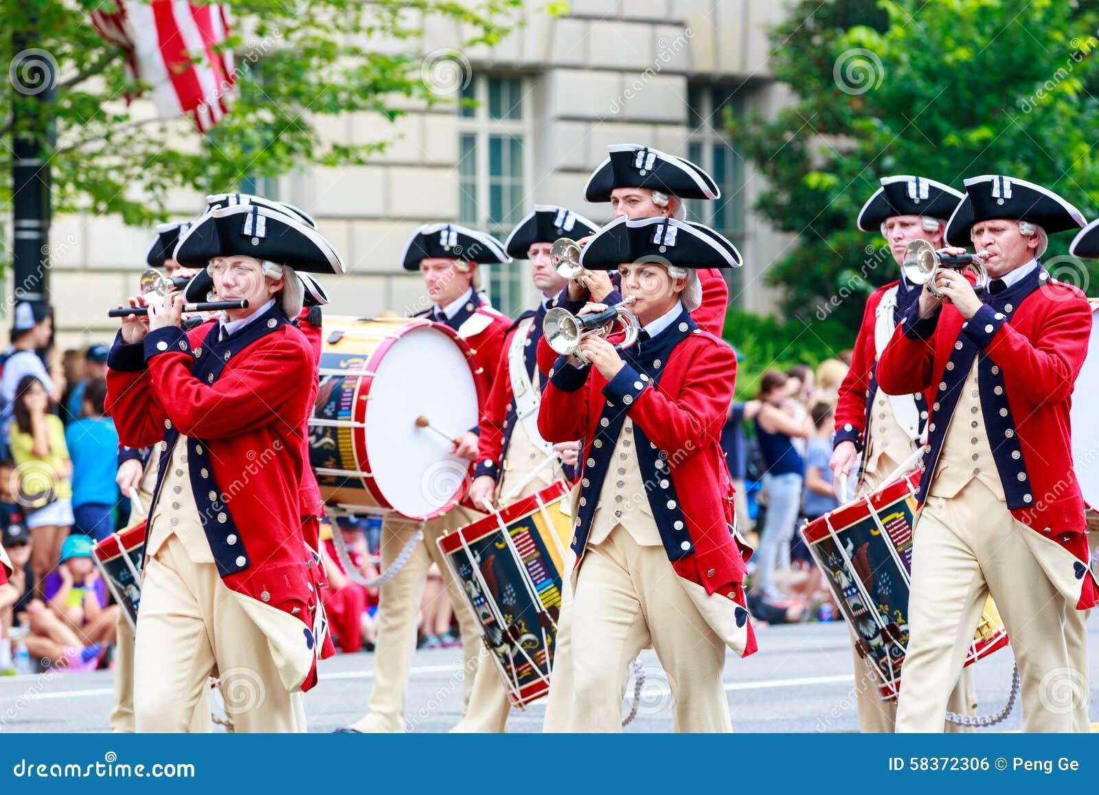 De nationale Parade 2015 van de Onafhankelijkheidsdag