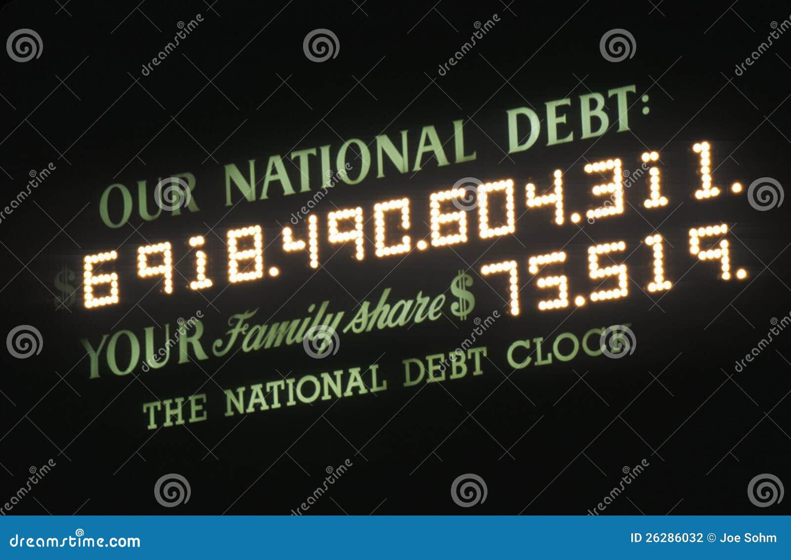 De Nationale Schuld van de V.S.