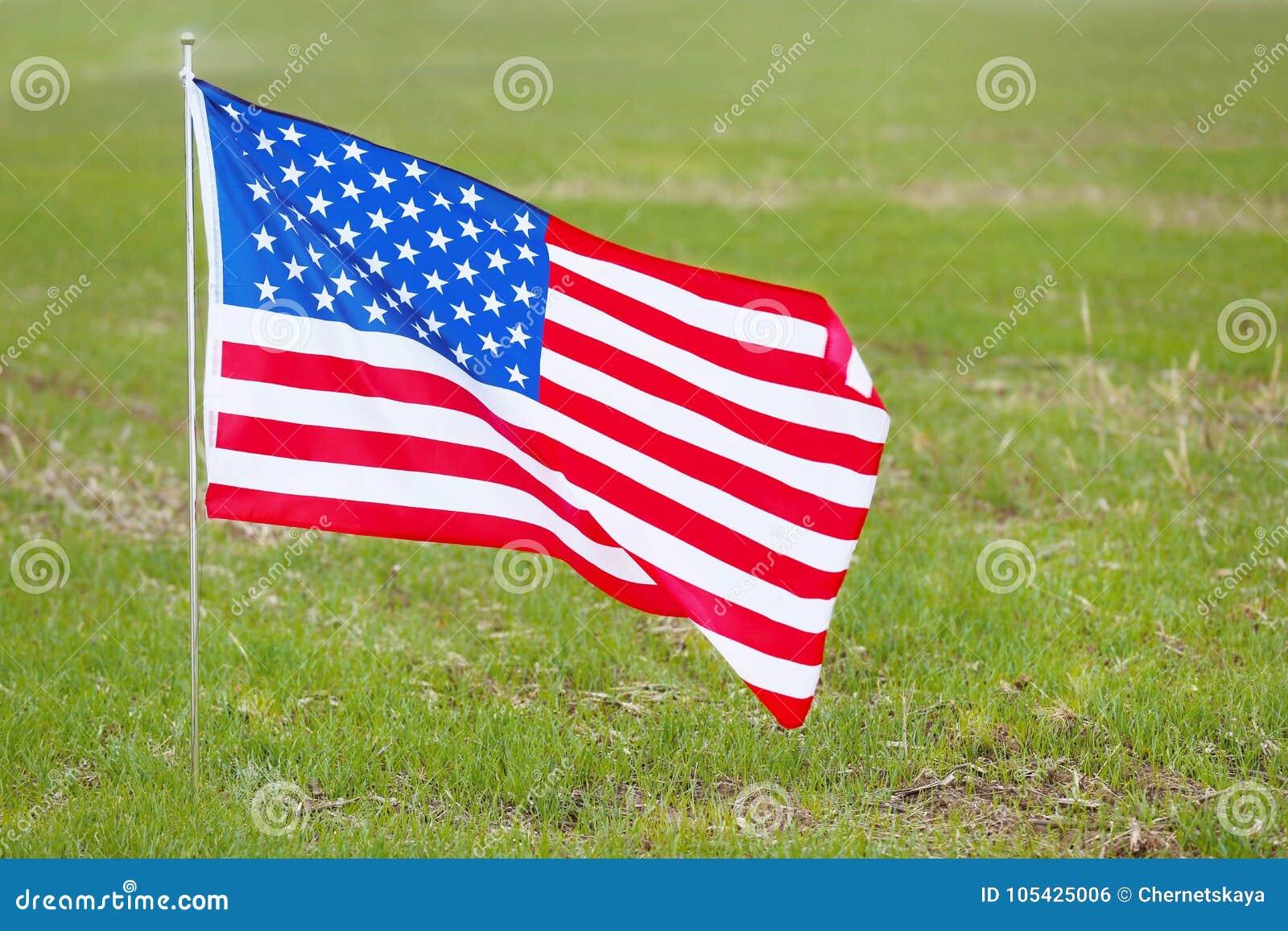 De nationale vlag van Verenigde Staten