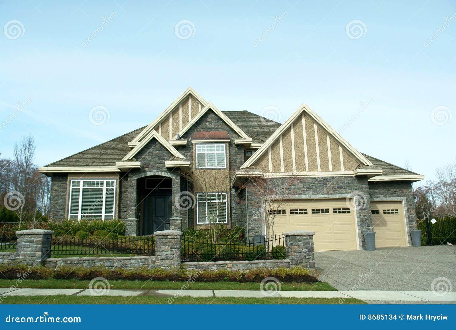 De nieuwe Buitenkant van het Huis